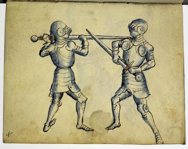 Cod. 11093, fol. 4r: Fecht - und Ringbuch