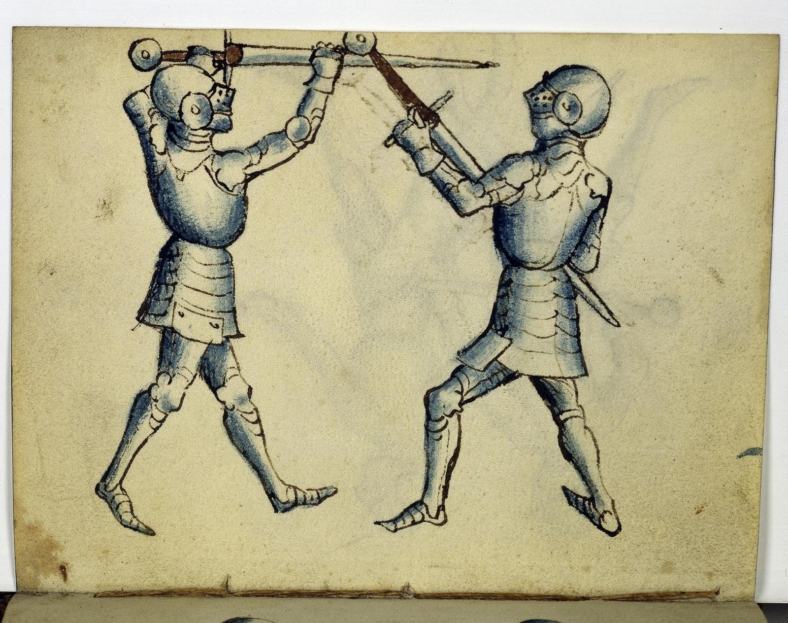 Cod. 11093, fol. 7v: Fecht - und Ringbuch