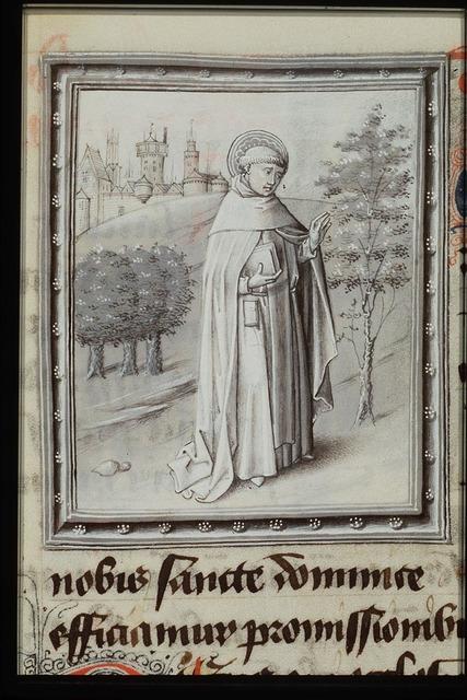St. Dominic of Calerueja holding a book