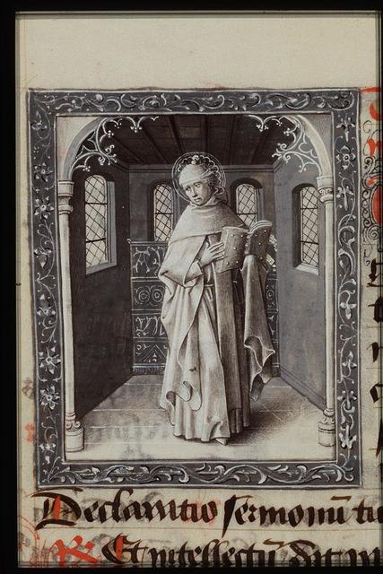 St. Thomas Aquinas holding a book