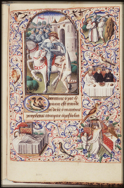 Vision of St. Martin, Bishop of Tours