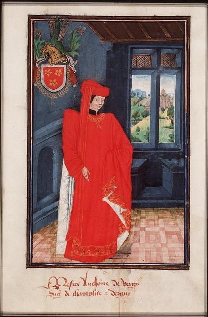Antoine de Vergy, Count of Dammartin