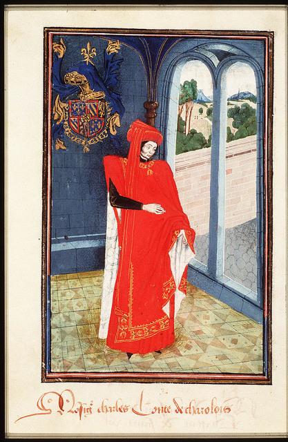 Charles de Bourgogne, Count of Charolais