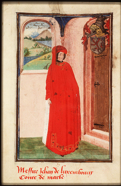 Jean de Luxembourg, Count of Marle
