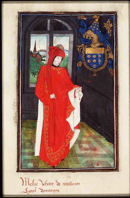 Jean de Melun, Seigneur d'Antoing