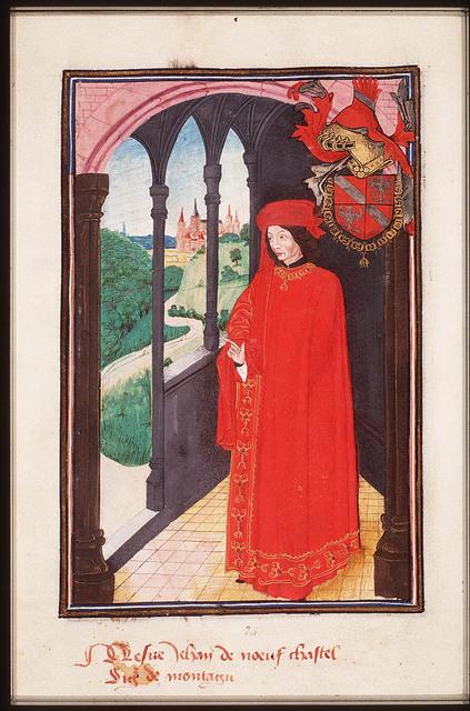 Jean de NeufchÆ'tel, Seigneur de Montagu