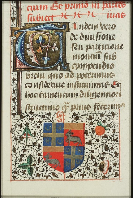 Coats of arms of Robert le Pèle and Mons Wattena