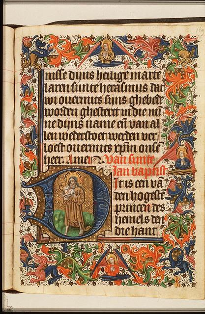St. John the Baptist holding the Lamb of God (Agnus Dei)
