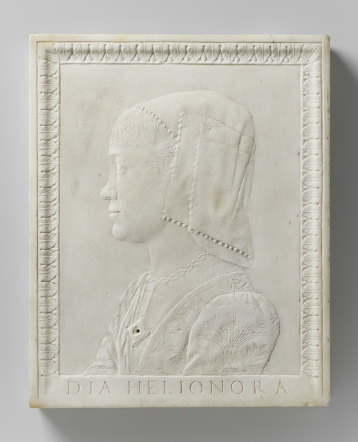 Portrait of Eleonora of Aragon