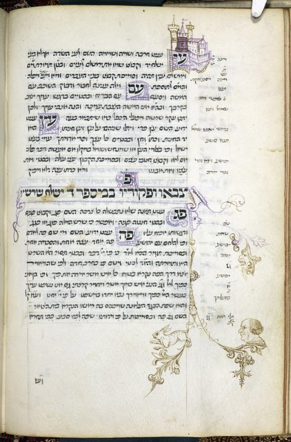 Pen drawings from BL Harley 5531, f. 17v