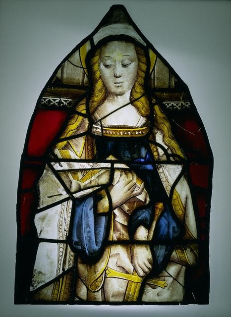 Ruit met de heilige Catharina