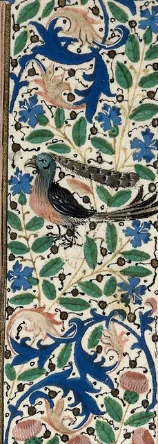 Bird from BL Royal 18 D IX, f. 173