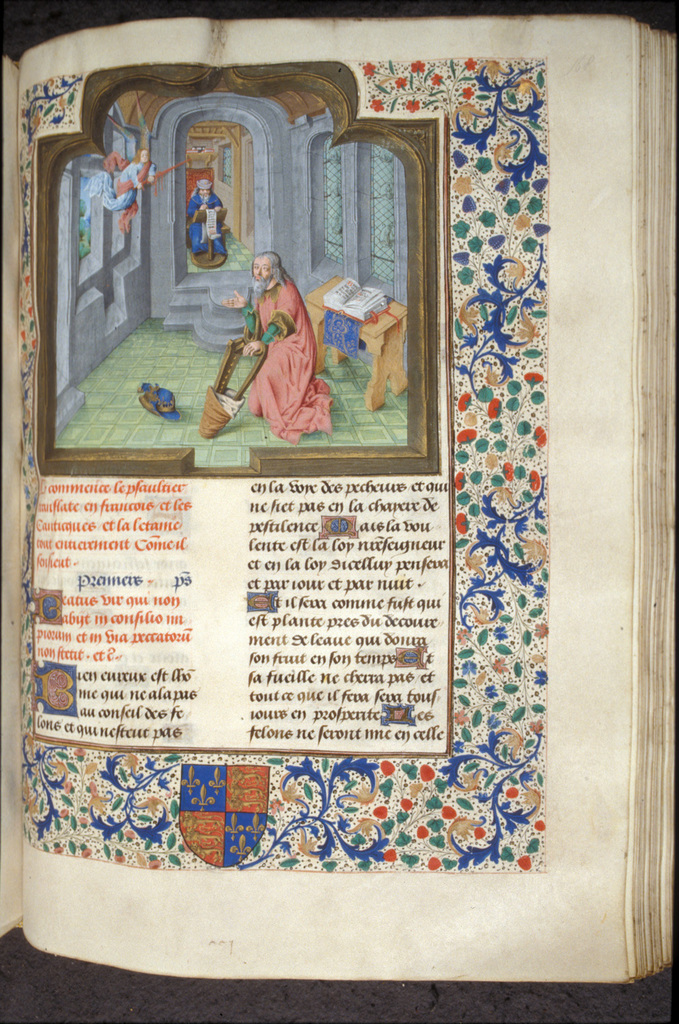 David from BL Royal 18 D X, f. 168