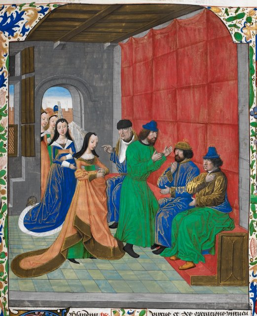 Lex Oppia from BL Royal 18 E IV, f. 229