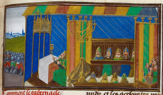 Tabernacle from BL Royal 18 D IX, f. 153