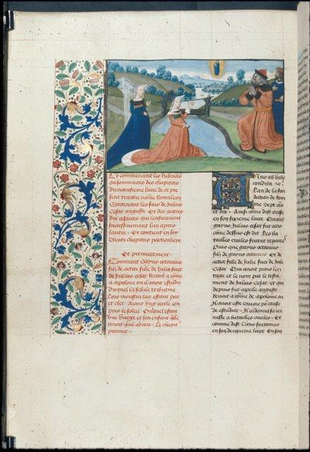 Return of Octavius from BL Royal 19 E V, f. 336v
