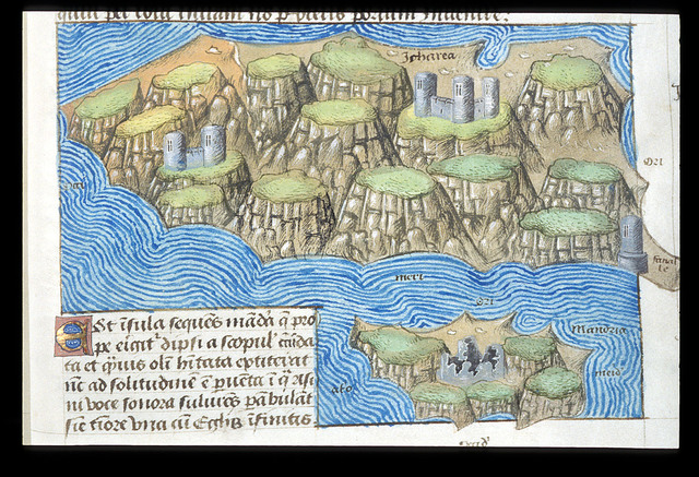 Map from BL Arundel 93, f. 148