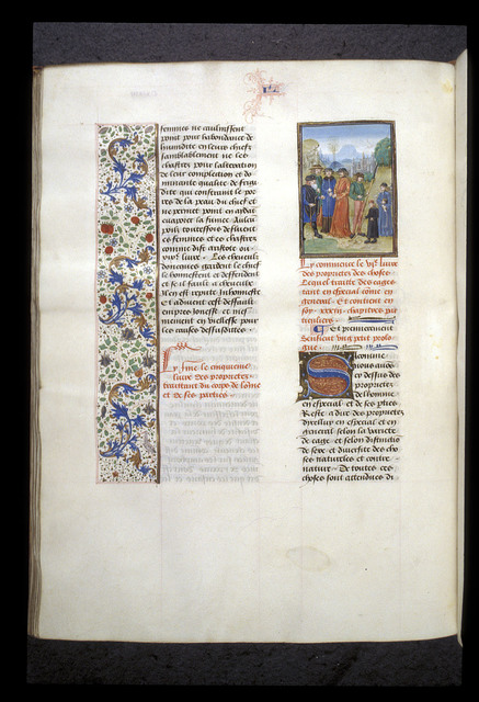 Seven Ages of Man from BL Royal 15 E II, f. 139v