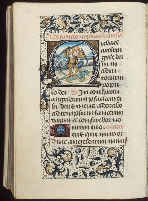 St. Michael conquering the devil