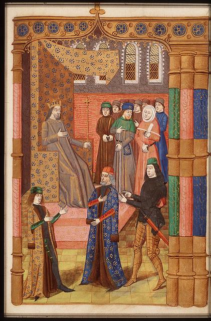 Alexander, Hannibal and Scipio Africanus before Minos, judge of Hades