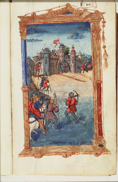 Assault of Cartagena (New-Carthage) after a short siege by Scipio Africanus Major