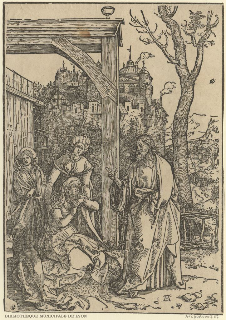 Jésus Christ prenant congé de sa mère