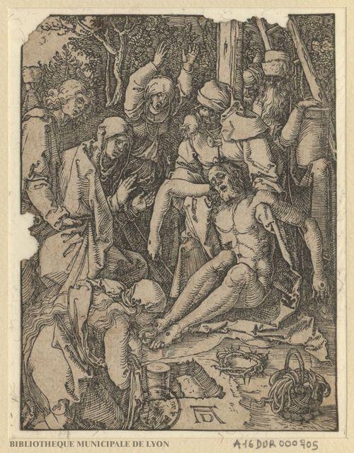 Le corps de Jésus Christ au pied de la croix, pleuré par les saintes femmes