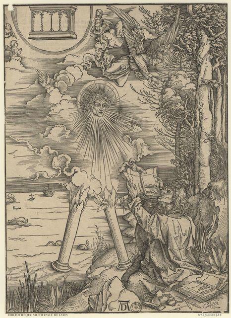 Saint Jean dévorant le Livre