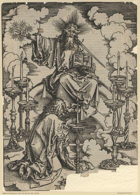 Saint Jean voit sept chandeliers