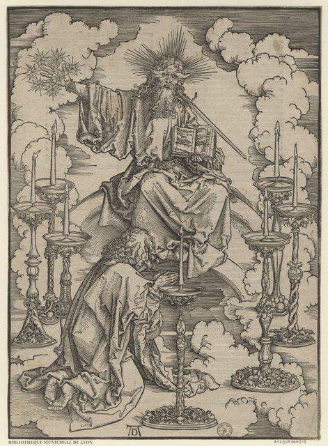 Saint Jean voit sept chandeliers d'or