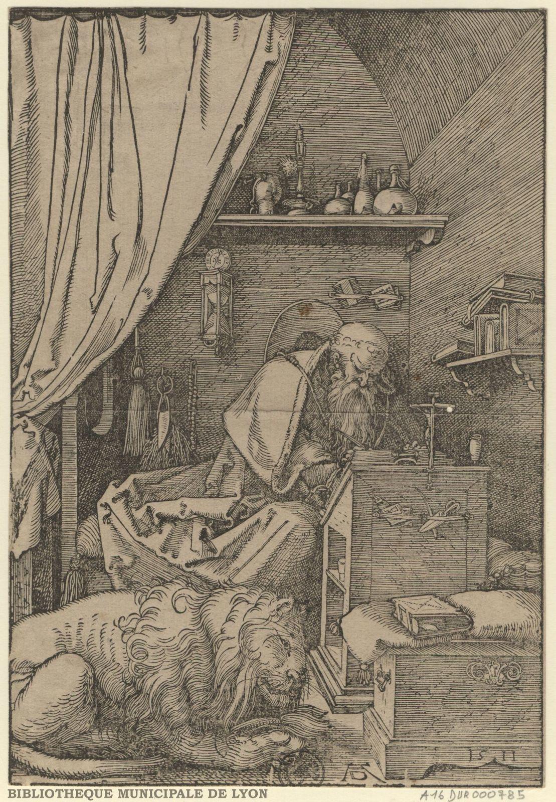 Saint Jérôme dans sa cellule