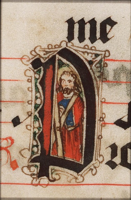 St. Andrew holding the X-shaped cross