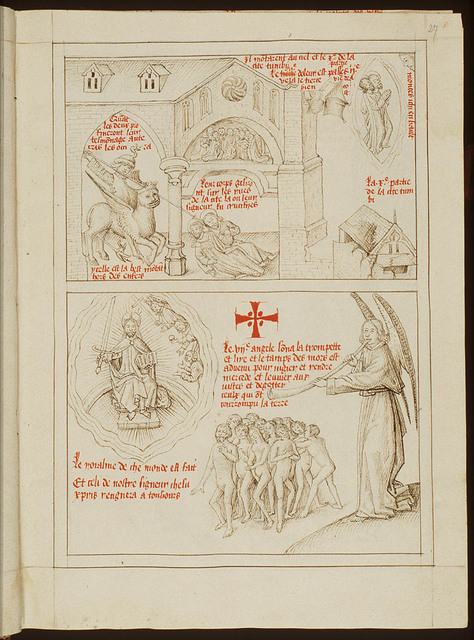 The seventh angel sounds: Christ as the judge of the Last Judgement, angels and resurrection of the dead (2nd of 2)