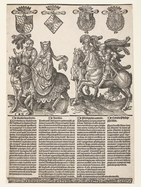 Willem VI, Jacoba van Beieren, Filips de Goede en Karel de Stoute