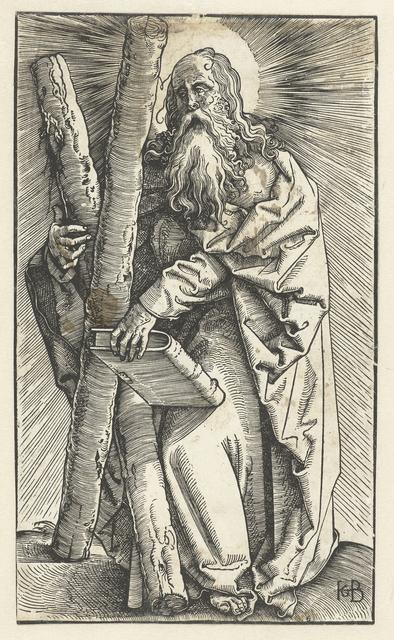 Andreas met Andreaskruis