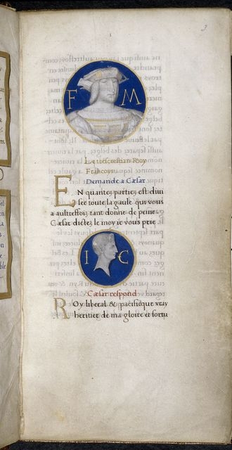 Portraits from BL Harley 6205, f. 3