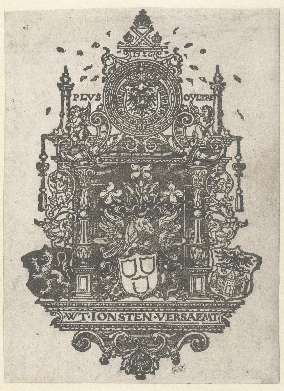 Blazoen van het St Lucasgild te Antwerpen
