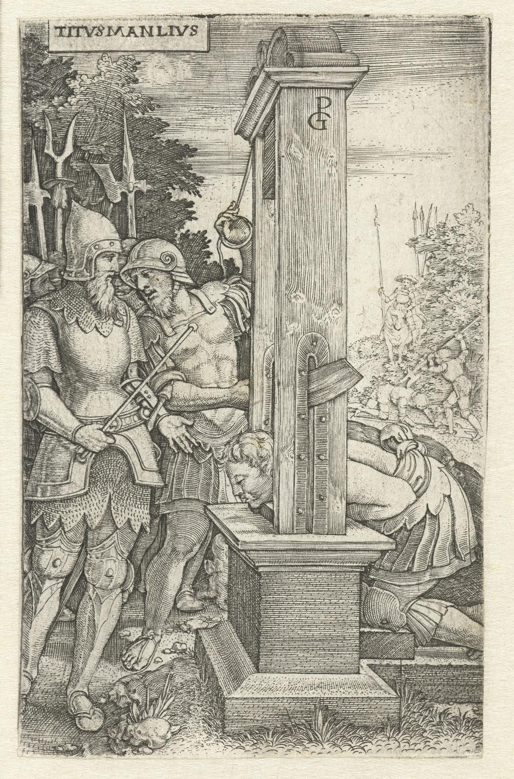 Titus Manlius Torquatus laat zijn zoon onthoofden