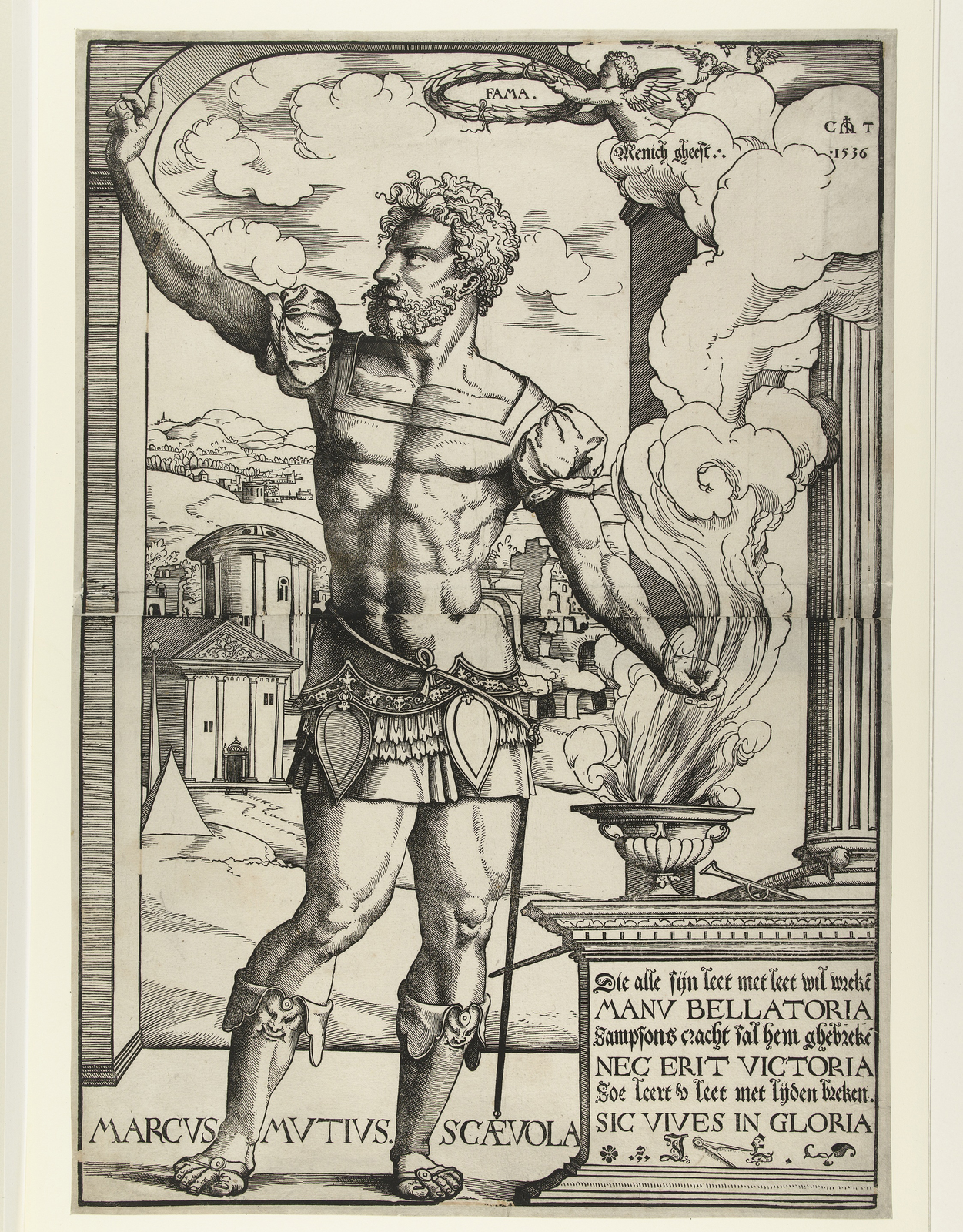 Marcus Mucius Scaevola