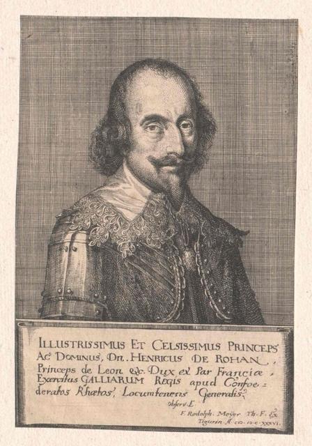 Rohan, 1. Duc de Rohan, Prince de Léon, Henri de