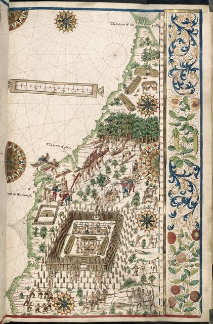 Eastern South America from BL Royal 20 E IX, f. 28