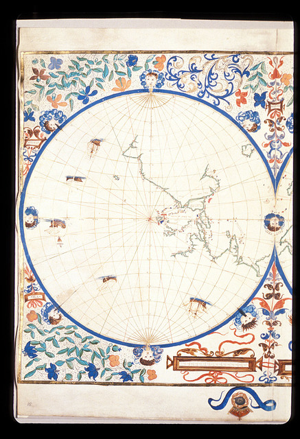 Map of the Eastern Hemisphere from BL Royal 20 E IX, f. 30