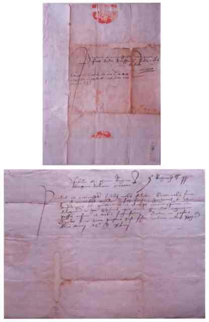 Scrisoarea Isabelei, regina Ungariei, Dalmației, Croației, etc., soția lui Ioan Zapolia către Johannes Fuchs
