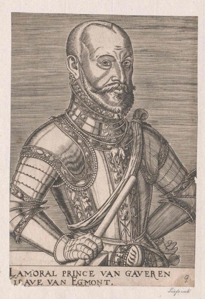 Egmond, Lamoraal Graaf van