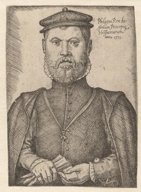 Portret van Philips II
