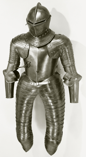 Armour worn at the funeral of Michiel de Ruyter?