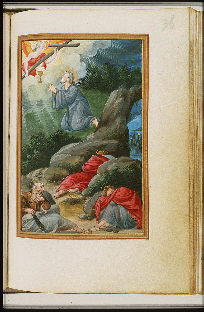 The Agony in the Garden: Christ prays in Gethsemane