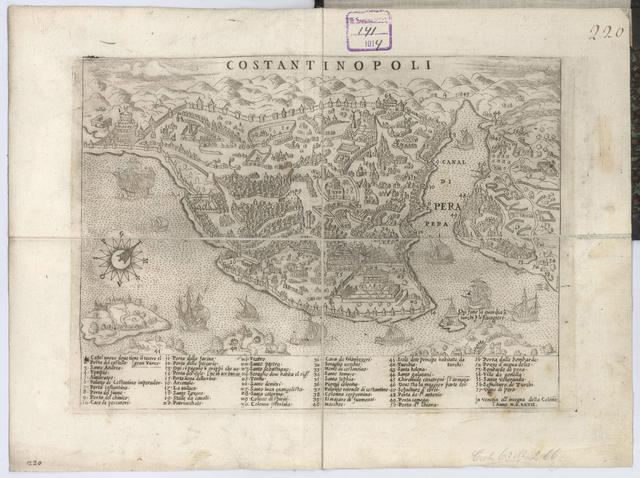 Costantinopoli : План