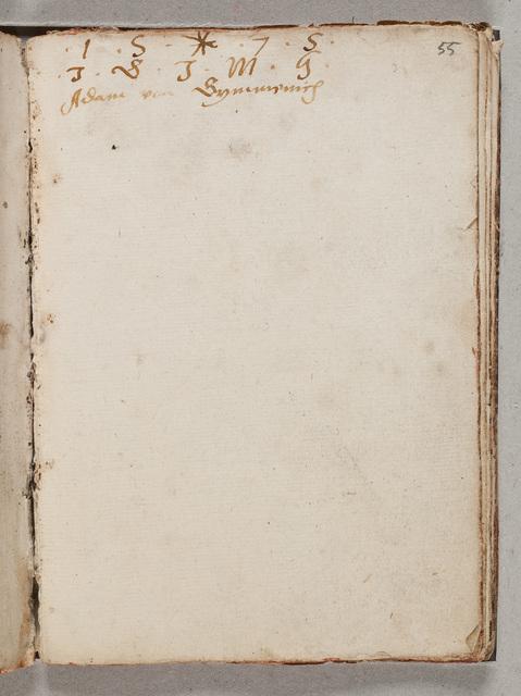 Albuminscriptie / van Adam von Symmenich, voor Gerard van Hacfort