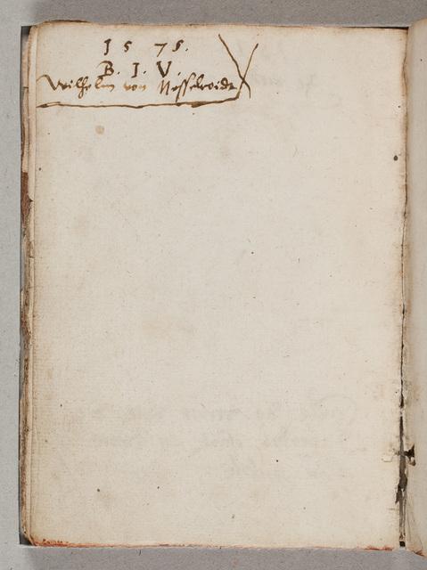 Albuminscriptie / van Wilhelm von Nesselroide voor Gerard van Hacfort